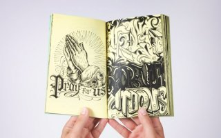 Mister Cartoon - Art of Lettering book